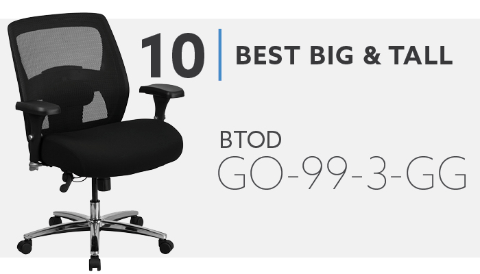 #10 Best Big and Tall Mesh Chair