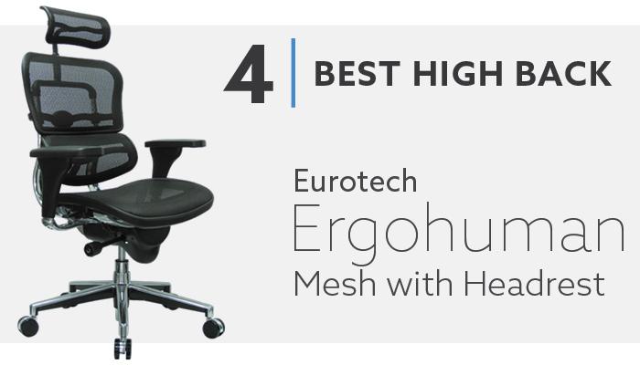#4 Best high back Mesh Chair