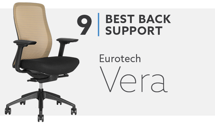 #9 Best Mesh Office Chair For Back Support