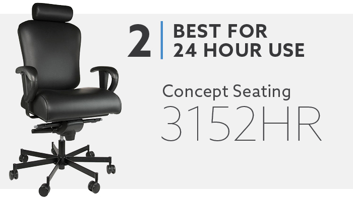 #2 Best 24 Hour Use Big and Tall Computer Chair