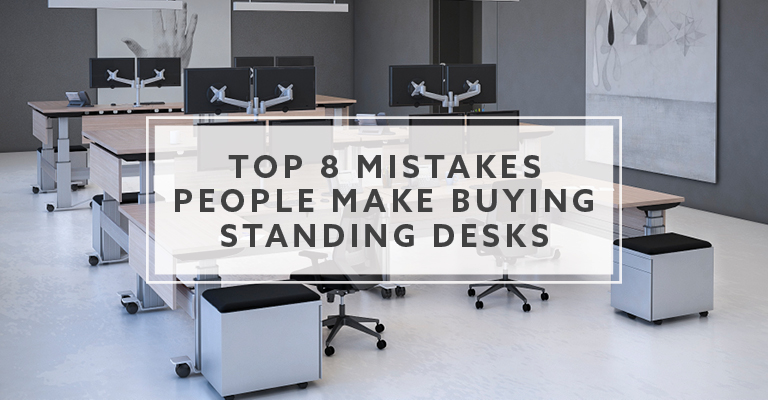 Top 8 Mistakes Buying Standing Desks