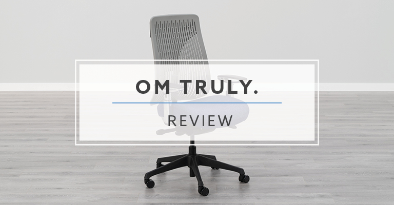 OM Truly. PolyBack Ergonomic Chair (Review / Rating / Pricing)