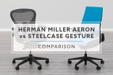 Herman Miller Aeron VS. Steelcase Gesture Chair: Which is best for you?
