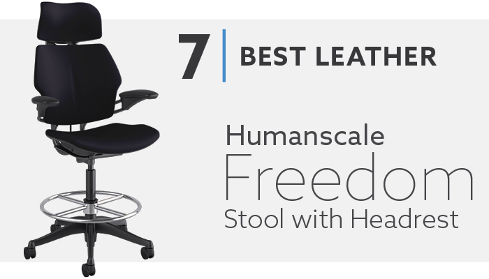 #7 Best Leather Drafting Chair