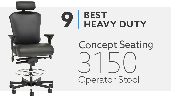 #9 Best 24 Hour Heavy Duty Drafting Chair