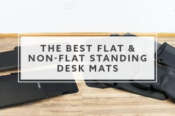 18 Best Flat and Non-Flat Standing Desk Mats For 2021