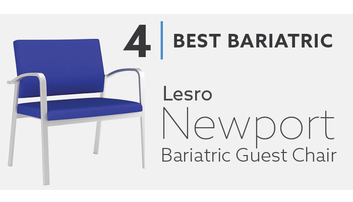 #4 Lesro Newport Best Modern Guest Chair