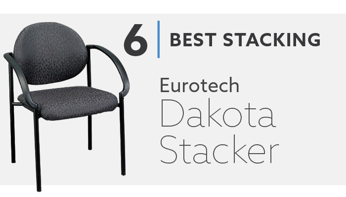 #6 Eurotech Dakota Best Stacking Guest Chair