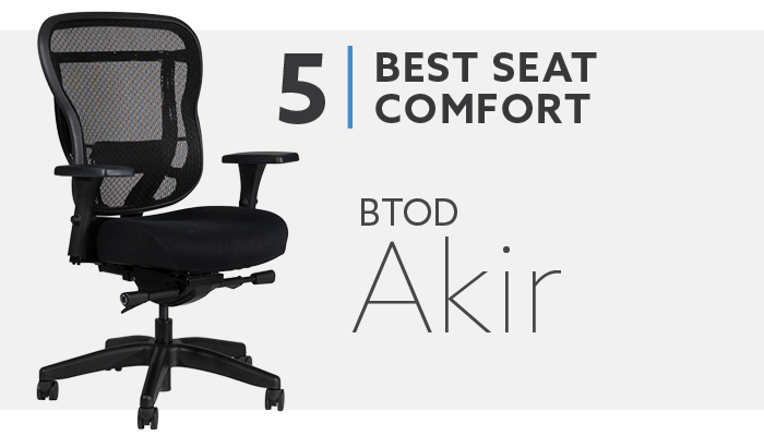 #5 Most Comfortable Seat on Office Chair