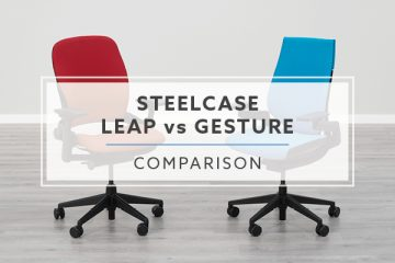Steelcase Leap Chair vs. Steelcase Gesture Chair: Which is best?