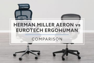 Herman Miller Aeron vs. Eurotech Ergohuman Chair: Which is the best for me?