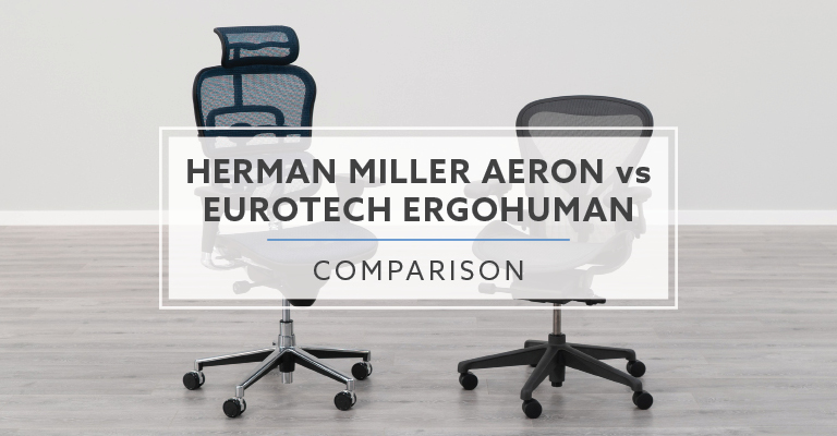 Groovy Herman Miller Aeron Vs Eurotech Ergohuman Chair Creativecarmelina Interior Chair Design Creativecarmelinacom