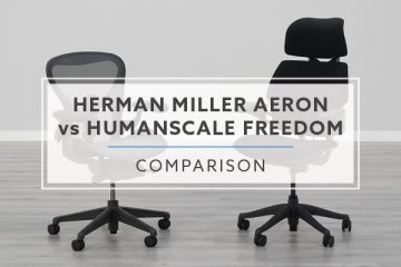 Herman Miller Aeron VS. Humanscale Freedom: Which is best for me?