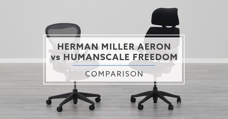 Herman Miller Aeron vs. Humanscale Freedom Chair