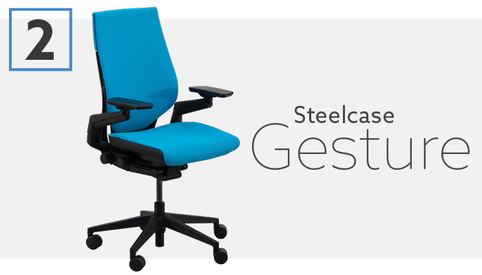 #2 Best Ergonomic Chair For 2019 - Steelcase Gesture