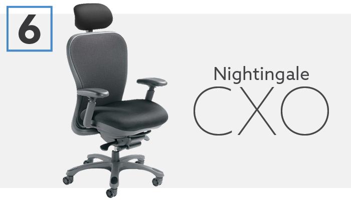 #6 Best Ergonomic Computer Chair - Nightingale CXO