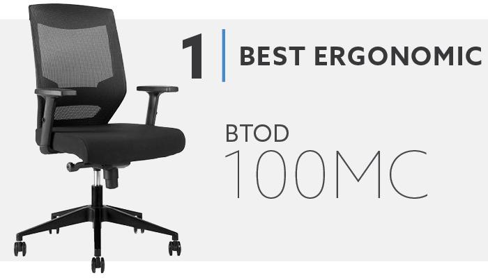 #1 Best Office Chair under $200 - BTOD 100MC