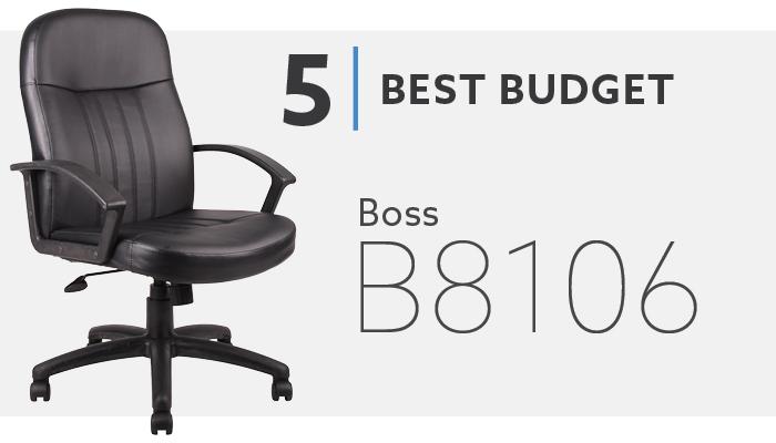 #5 Best Budget Office Chair Under $150 - Boss B8106 Chair