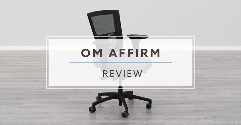 Om Affirm Mesh Back Office Chair Review Rating Pricing