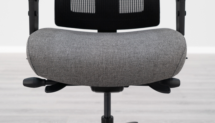 Front of Affirm seat pad