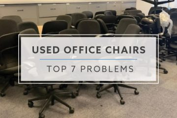 Top 7 Problems with Buying Used Office Chairs