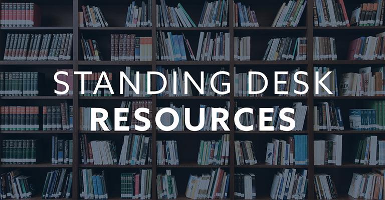 Standing Desk Resources