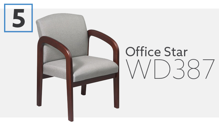 Office Star Custom Upholstered Inexpensive Waiting Chair