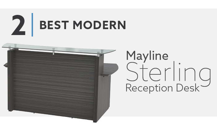 Mayline Sterling Reception Desk
