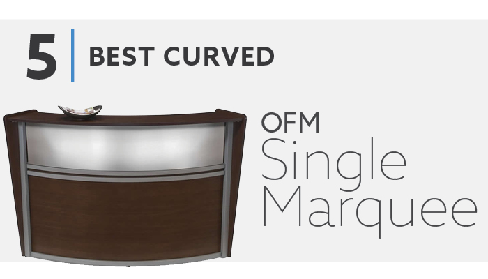 OFM Single Marquee Reception Desk