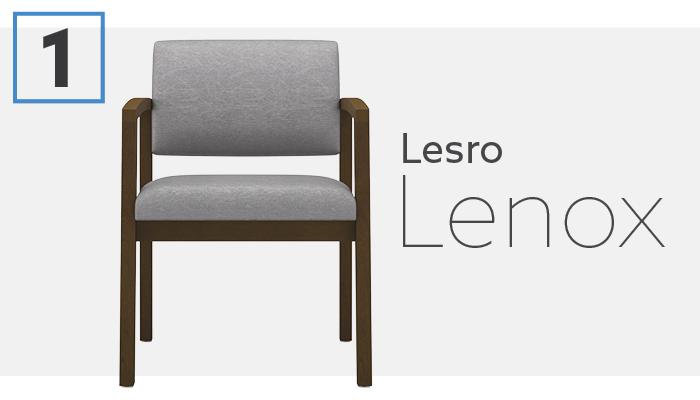 Lesro Lenox Series Small Waiting Room Chair
