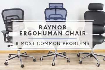 8 Problems and Solution with the Ergohuman Chair in 2019