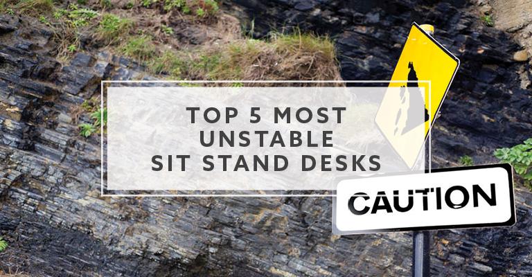 Top 5 Most Unstable Sit Stand Desks We've Tested