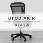 BTOD Akir Mesh Office Chair Review Header