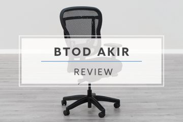 BTOD Akir Mesh Office Chair (Review / Rating / Pricing)