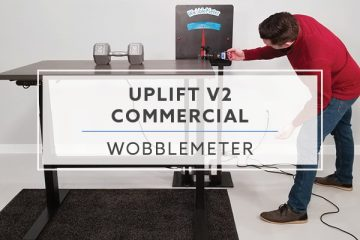 WobbleMeter: Stability Testing For Uplift Desk v2 Commercial