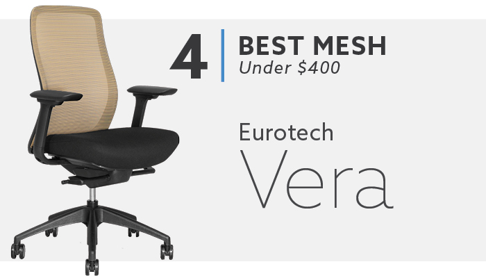 #4 Best Mesh Chair Eurotech Vera Chair
