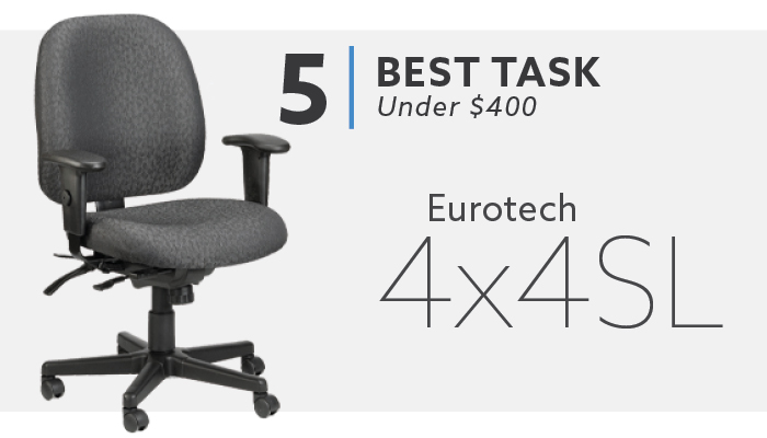 #5 Best Task Chair Under $400 Eurotech 4x4 Chair