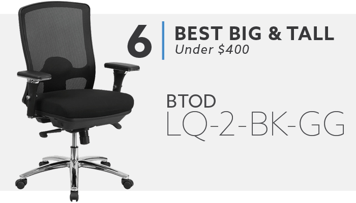#6 Best Big and Tall Chair Under $500 BTOD LQ Chair