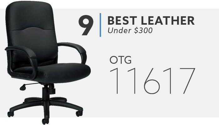 #9 Best Leather Office Chair Under $300 OTG 11617 Chair