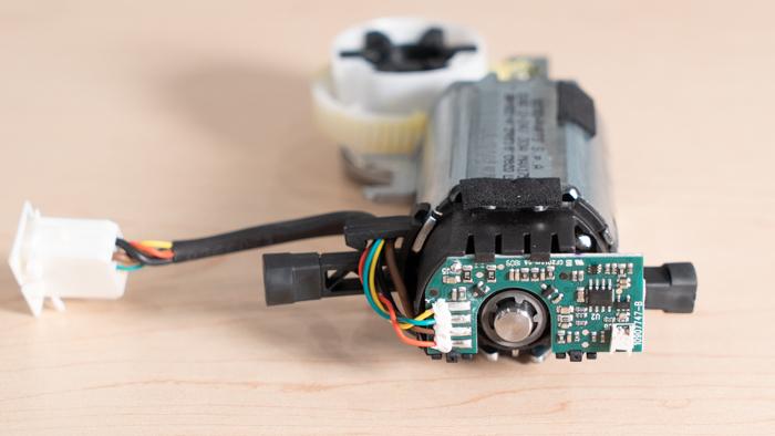 Encoder On Motor