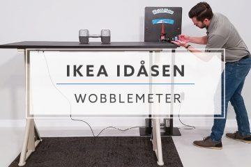 WobbleMeter: Stability Testing For IKEA Idasen Standing Desk