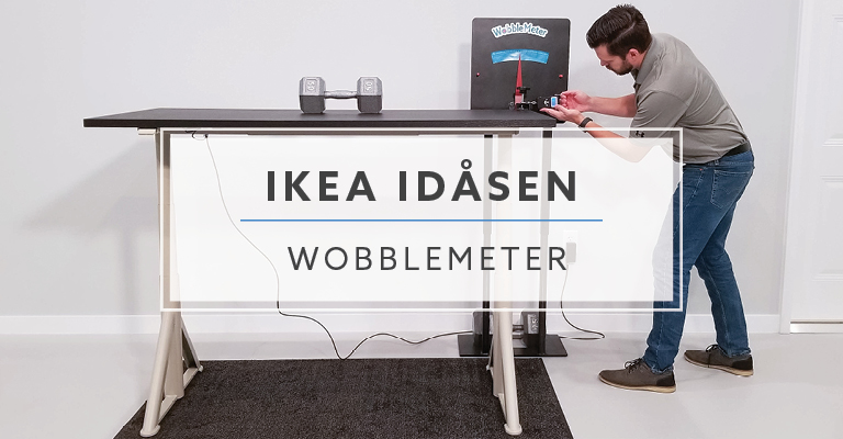 IKEA Idasen WobbleMeter Stability Testing Header