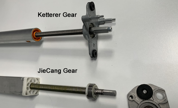 Gears Shown From Top View