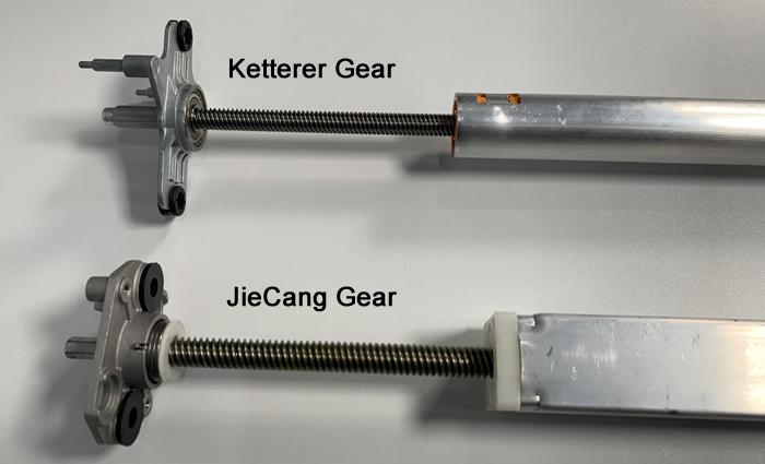 Ketterer (NewHeights XT) vs JieCang Gear System