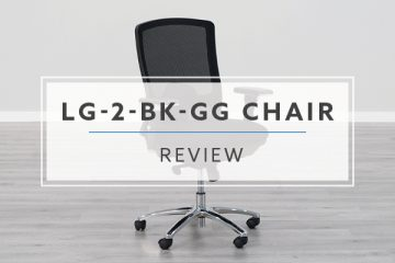 BTOD LQ-2-BK-GG Mesh Big and Tall 24/7 Chair (Review / Rating / Pricing)