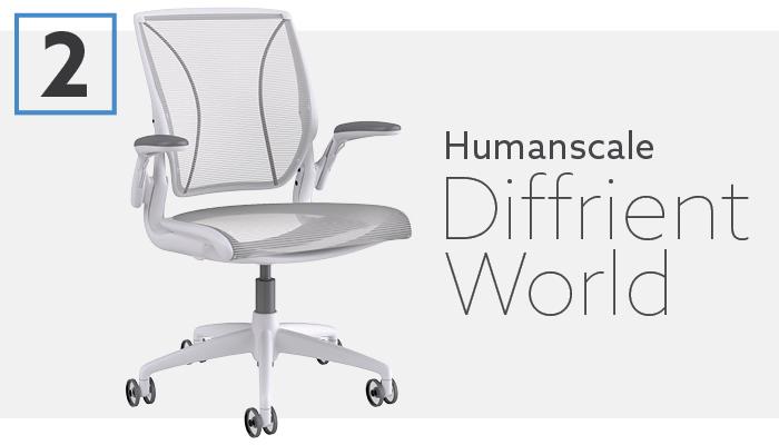 #2 Best Aeron Alternative Humanscale Diffrient Chair