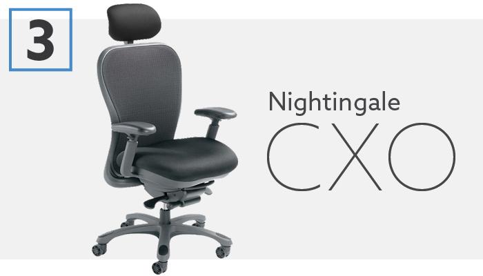#3 Best Aeron Alternative Nightingale CXO Chair