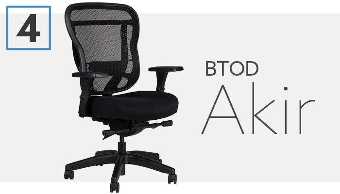 #4 Best Aeron Chair Alternative BTOD Akir Chair