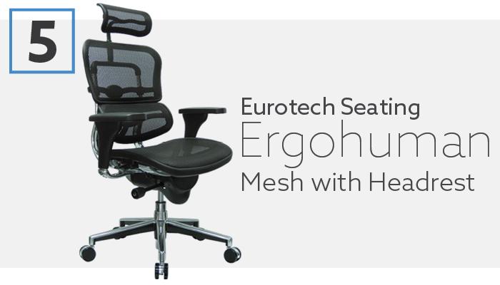#5 Best Herman Miller Aeron Alternative Ergohuman Chair