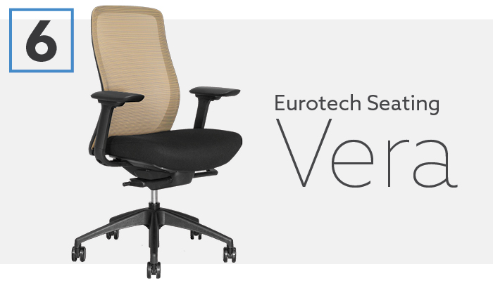 #6 Best Herman Miller Alternative Euotech Seating Vera Chair